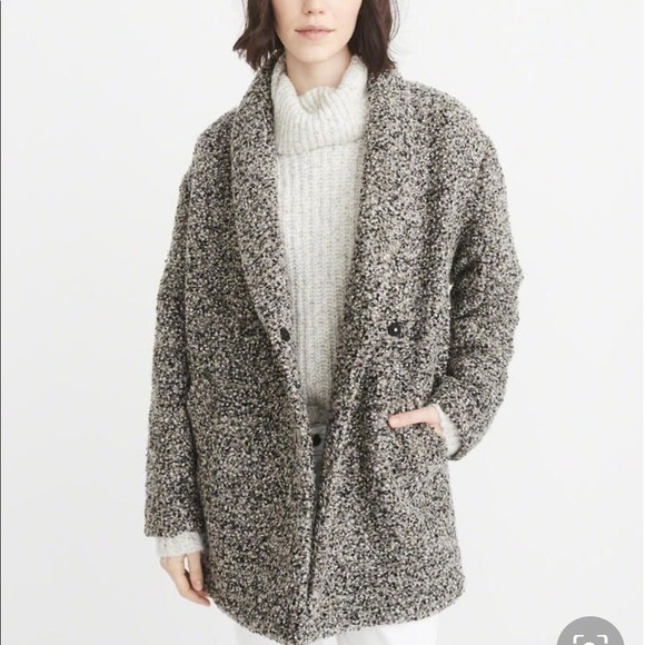 Abercrombie & Fitch Jackets & Blazers - Abercrombie & Fitch wool blend coat